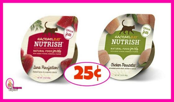 Rachael Ray Nutrish Cat Food 25¢ at Publix!
