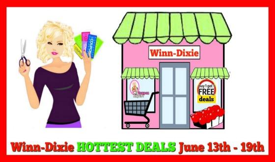 Winn Dixie HOTTEST DEALS June 13th – 19th!!