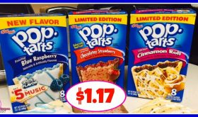 Kellogg's Pop Tarts $1.17 at Publix!