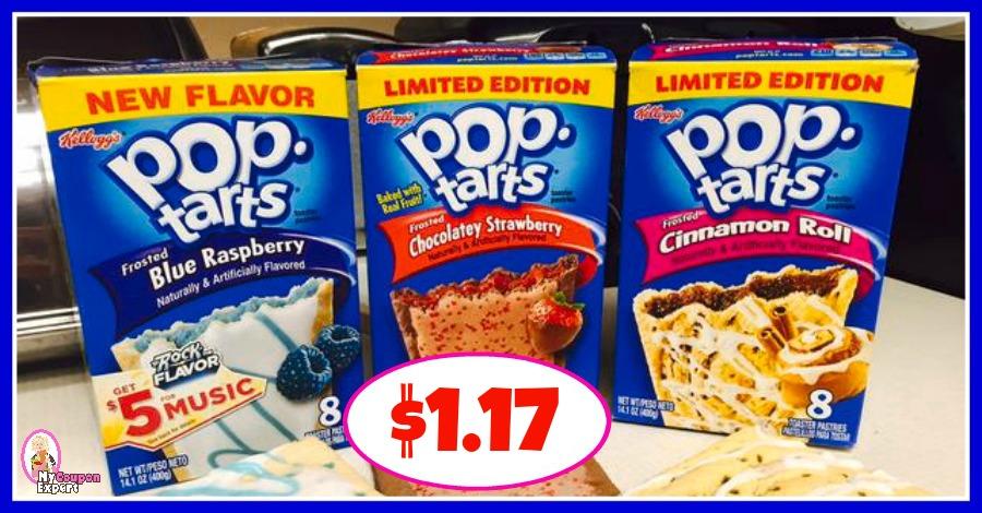 Kellogg's Pop Tarts $1.17 at Publix!