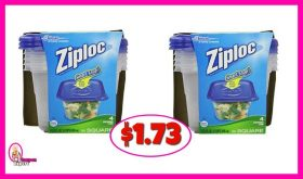 Ziploc Containers $1.73 at Publix!