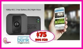 BLINK Security System HOT DEAL for Amazon Prime Day!