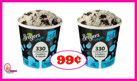 *NEW COUPON* Breyers Delights Ice Cream 99¢ at Publix!