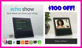 Echo Show now just $129!  HURRY!!