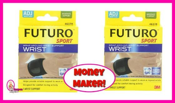 Futuro Wrist Braces FREE plus a MONEY MAKER at Publix!