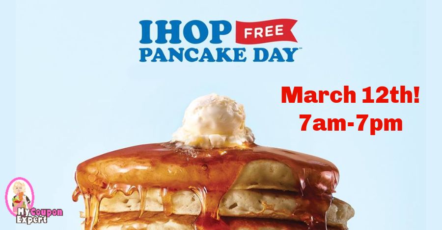 photograph about Ihop Printable Coupons named Countrywide Pancake Working day! Cost-free Pancakes at IHOP! ·
