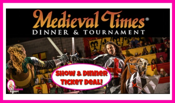 *HOT* Medieval Times Dinner & Show Deal!