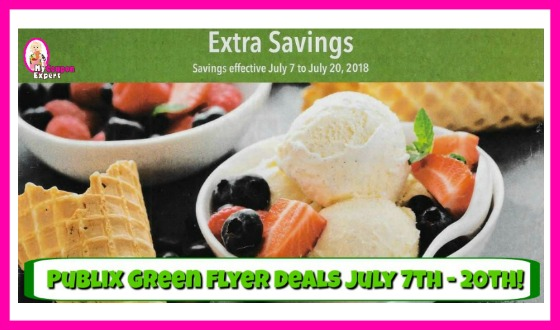 Publix GREEN Flyer Deals July 7th – 20th!