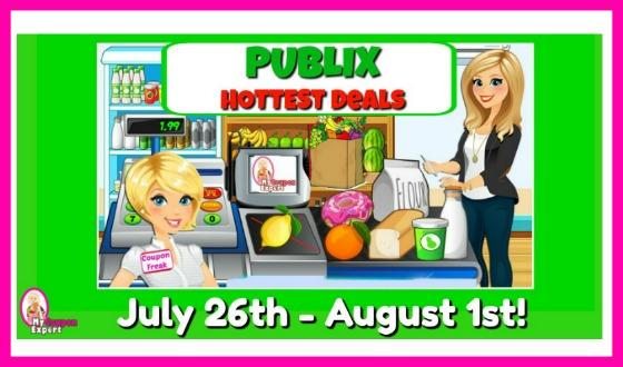 Publix HOTTEST DEALS & Matchups July 26th – August 1st!