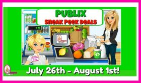 Publix SNEAK PEEK Matchups July 26th – August 1st!