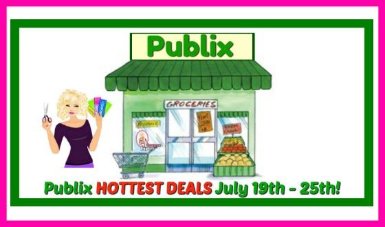 Publix HOTTEST DEALS July 19th – 25th!!