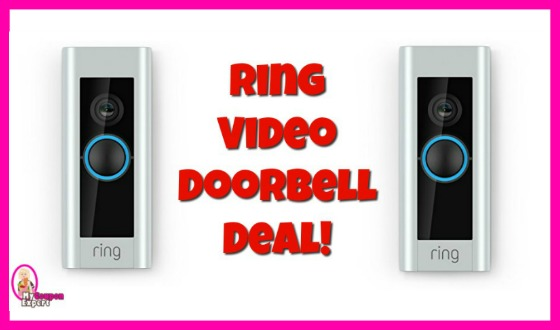 RING Video Doorbell HOT DEAL for Amazon Prime Day!