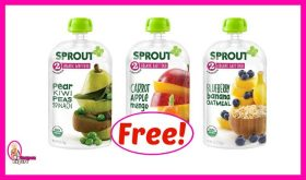 Sprout Organic Baby Food Pouches FREE at Publix!