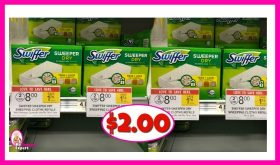 Swiffer Dusters or Refills $2.00 at Publix!