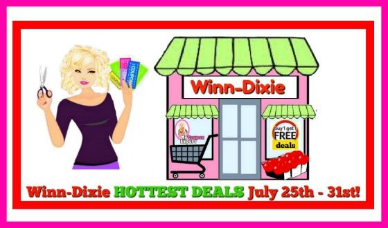 Winn Dixie HOT DEALS and Matchups July 25th – 31st!