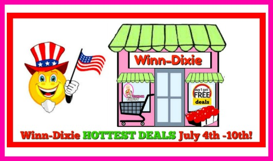 Winn Dixie Hottest Deals July 4th – 10th!