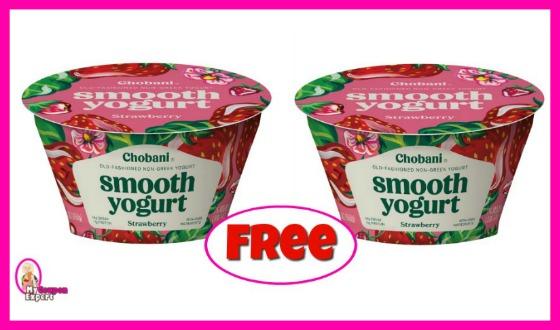 Chobani Non-Greek Yogurt FREE at Publix!