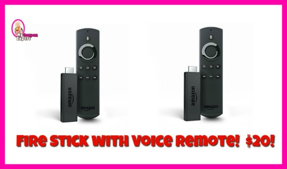 *SUPER HOT* Fire Stick with Voice Remote $20 (reg $39.99)
