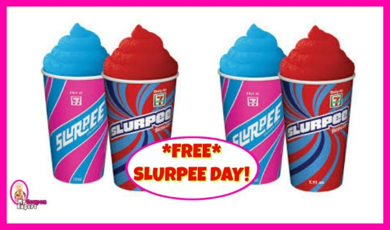 FREE Slurpee Day at 7-11 on July 11th!