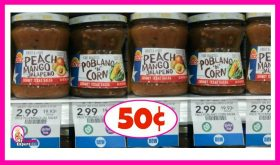 Pace Snacking Salsa 50¢ at Publix NOW!