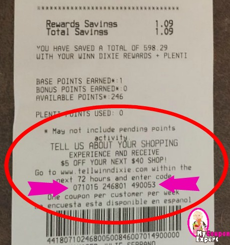 graphic regarding Winn Dixie Printable Coupons referred to as Winn Dixie $5/$40 Coupon codes are Back again and PRINTABLE! ·