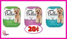 Bella Pampered Meals Dog Food 28¢ each at Publix!