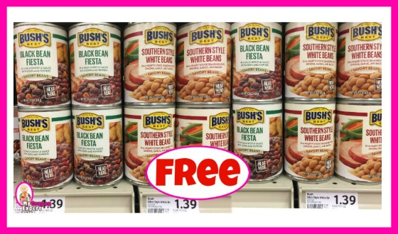 Bush's Savory Beans FREE at Publix!