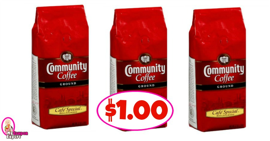 Community Coffee Bags Or Kcups 1 00 At Publix