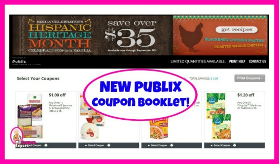 Publix Coupon Booklet! Family Celebrations Hispanic Heritage Month!