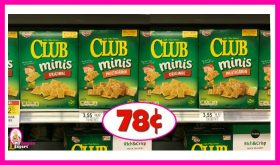 Keebler Townhouse Minis just 78¢ at Publix!