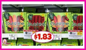 Nestle Outshine Bars $1.83 at Publix!