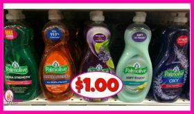 Palmolive Dish Liquid $1.00 each at Publix!