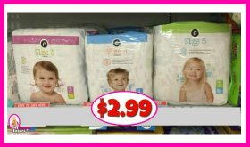 Publix Diapers just $2.99 each!  Nice Deal!