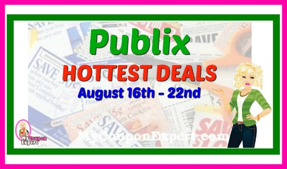 Publix HOTTEST DEALS and Matchups August 16th – 22nd!
