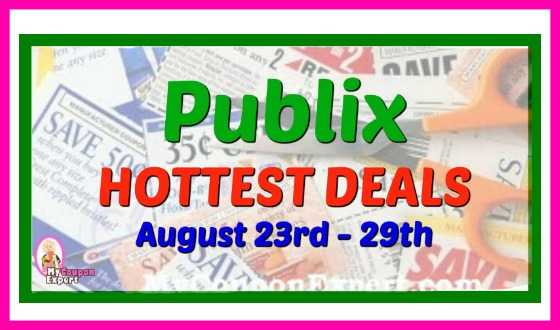 PUBLIX HOTTEST DEALS August 23rd – 29th!!