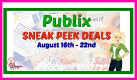 Publix SNEAK PEEK and Matchups August 16th – 22nd!