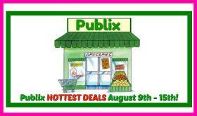 Publix HOTTEST DEALS August 9th – 15th!