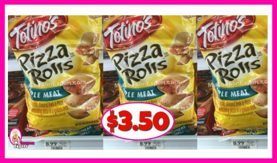 Totino's Pizza Rolls BIG BAGS $3.50 each (reg $8.99)!