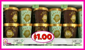 Halo Top Ice Cream $1.00 each at Publix!
