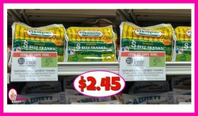 Nathan's Skinless Beef Franks $2.45 at Publix PLUS free Buns!