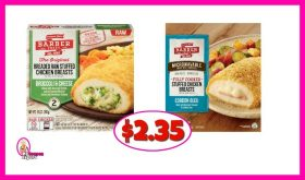Barber Stuffed Chicken Breasts $2.35 at Publix!