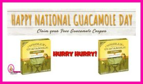 FREE GUACAMOLE COUPON!!  Hurry Hurry Today only!