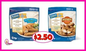 Perdue Chicken Tenders or Chunks just $2.50 each bag at Publix!