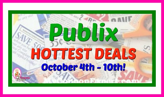 Publix HOTTEST DEALS October 4th – 10th!  Gas Card Week!