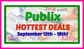 Publix HOTTEST DEALS September 13th – 19th!