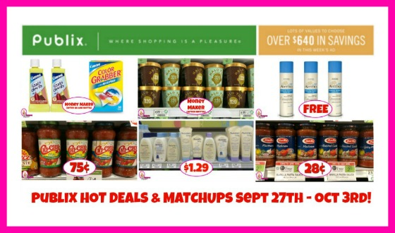 Publix HOTTEST DEALS September 27th – October 3rd!