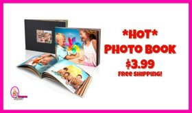 *HOT* Photo Book for $3.99 including shipping!