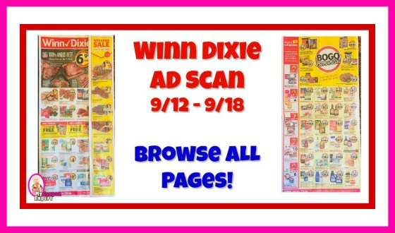 Winn Dixie AD SCAN September 12th – 18th!  Browse all pages!
