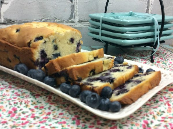 KETO FRIENDLY BLUEBERRY BREAD