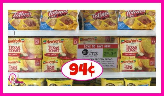 New York Frozen Bread 94¢ at Publix!